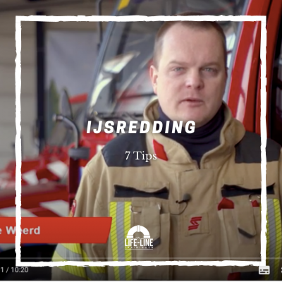 Lifeguard Mike Lehnkering 7 tips IJsredding brandweer