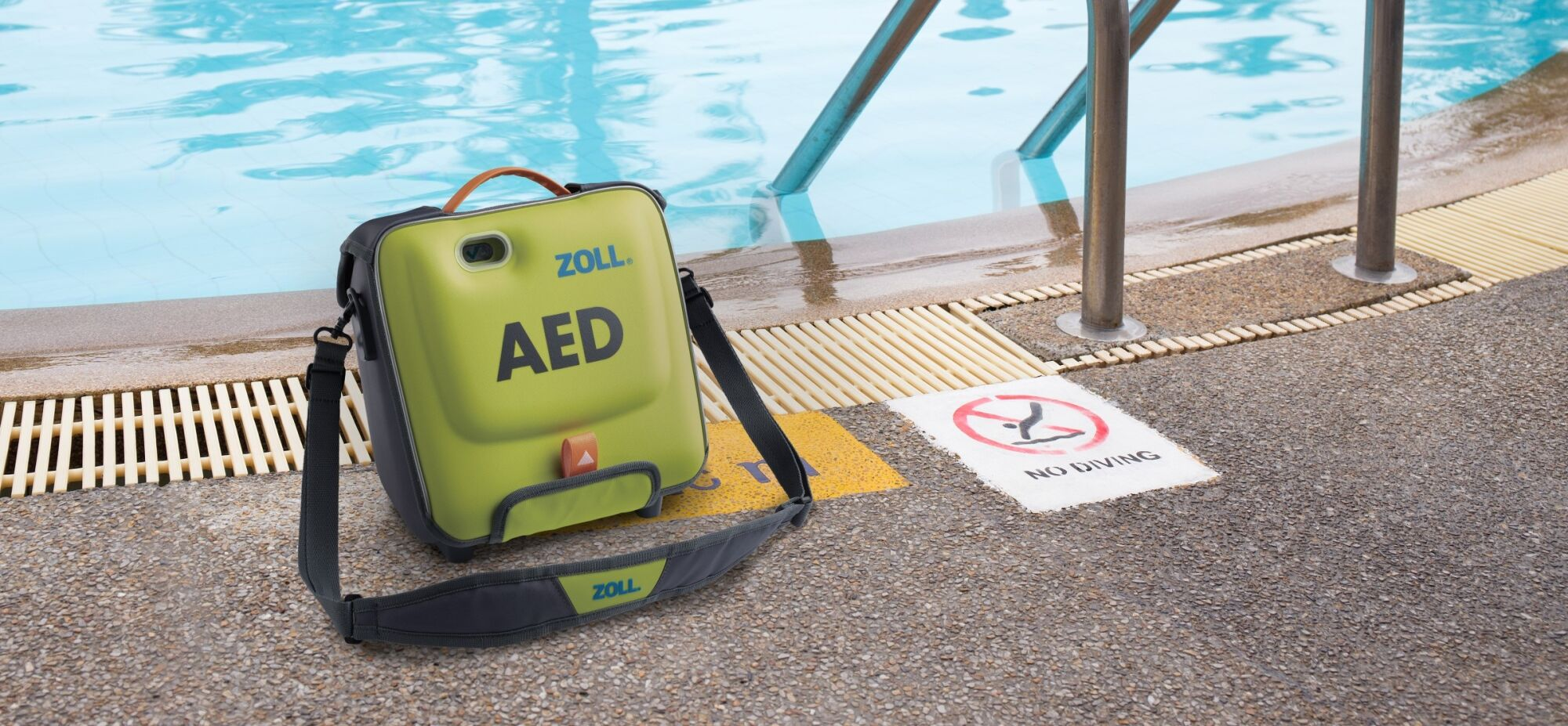 ZOLL AED3 zwembad